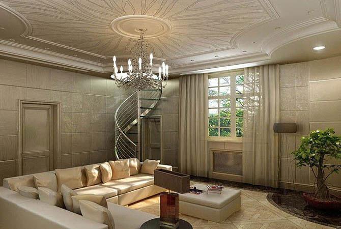 скачать архив дизайна гостинной комнаты