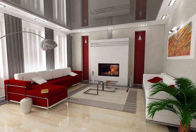дизайн в решение и оформлении малогаборитной квартиры