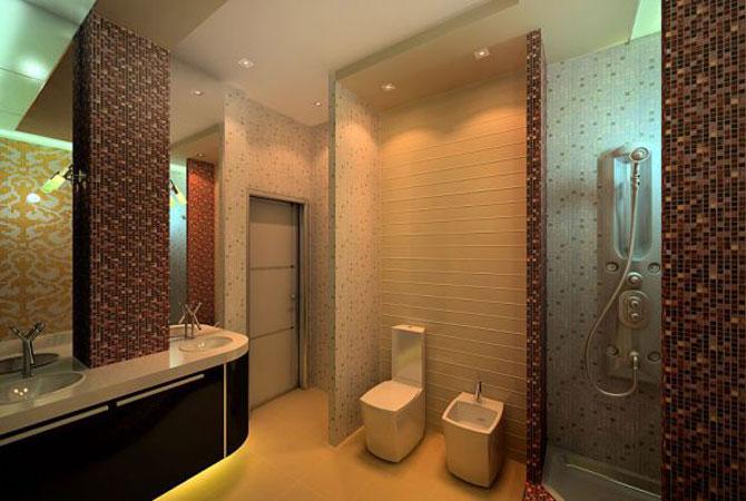 дизайн интерьера квартиры с темными обоями