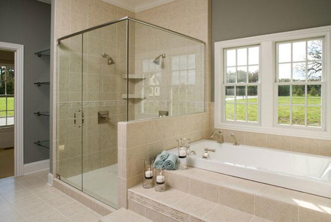 примеры дизайна стандартных ванных комнат