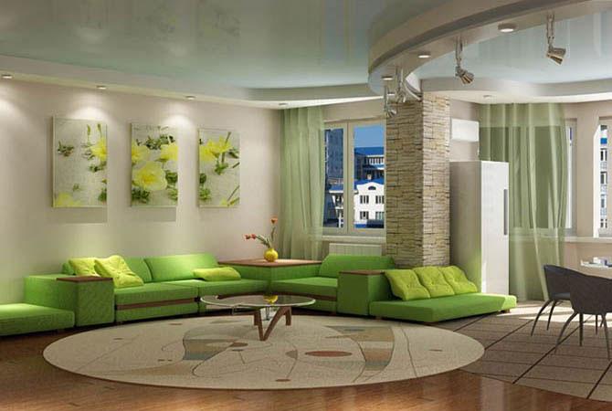 дизайн квартиры и камины