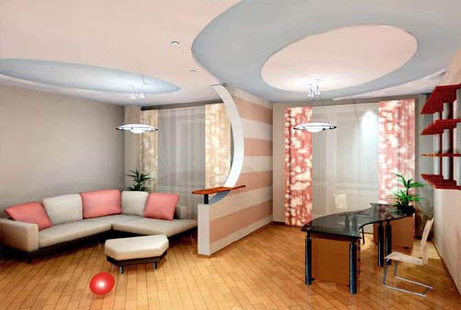 Дизайн интерьер квартиры 50 кв.м