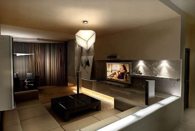 фото интерьера квартиры в стиле кантри