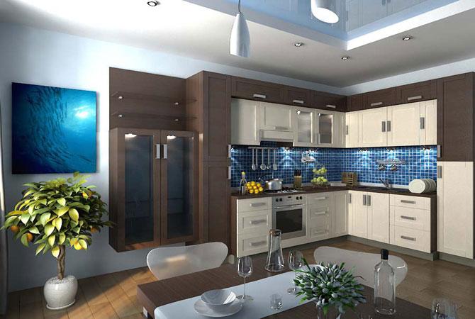 дизайн квартир в стиле кантри