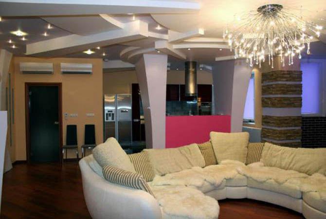 интерьера домов в стили кантри и классика