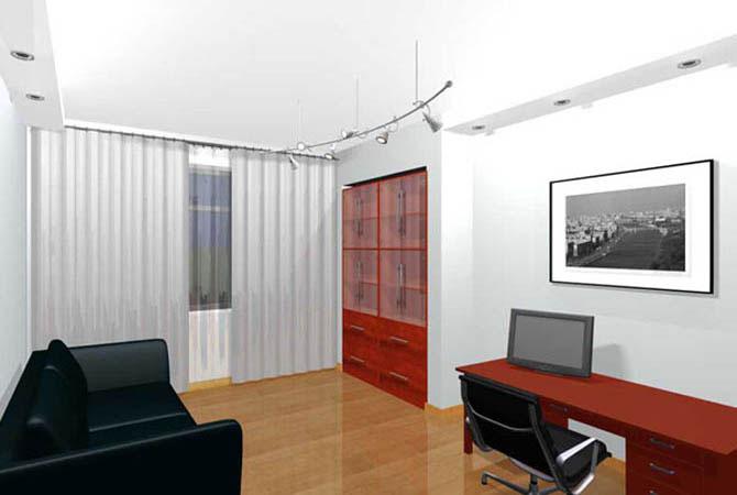 дизайн навесных потолков в квартире