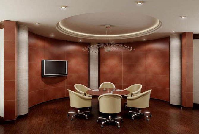 проекты дизайна длинных комнат