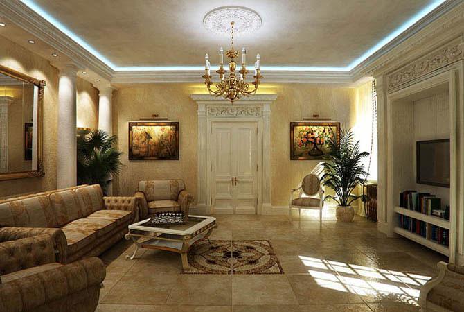 дизайн однокомнатной квартиры 57 квадратов