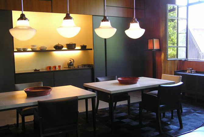 интерьер квартиры в серебре