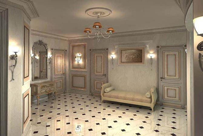 дизайн-проект двухкомнатной квартиры площадью 60 м2