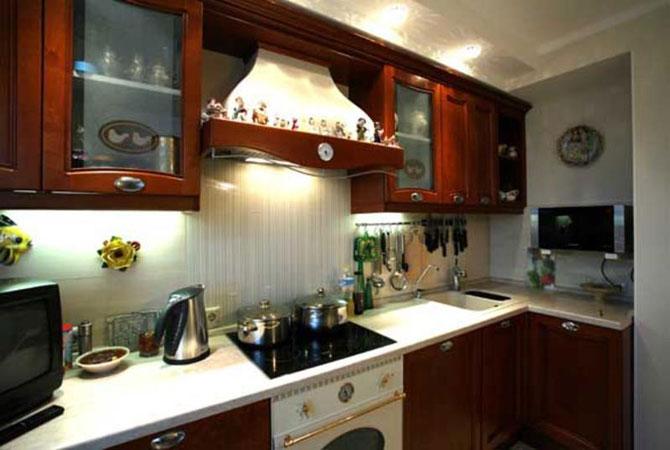 дизайн проект двухкомнатной квартиры и-155