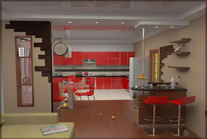 примеры дизайна интерьеров частных квартир
