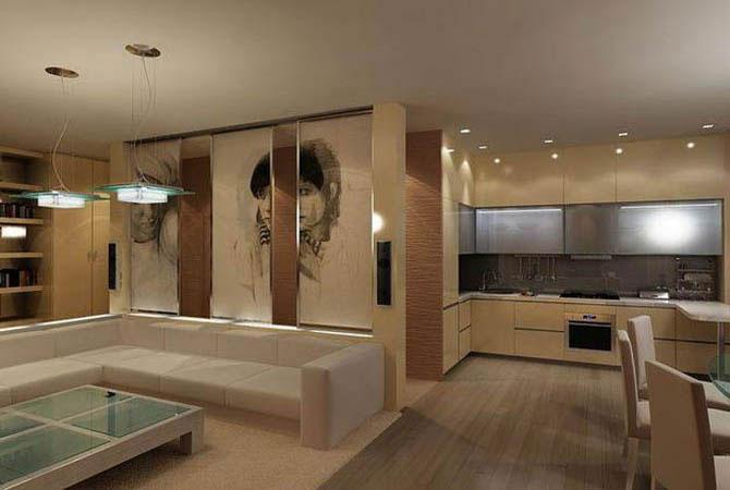 дизайн квартиры подобрать цвет стен