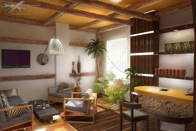 современный дизайн стандартных квартир