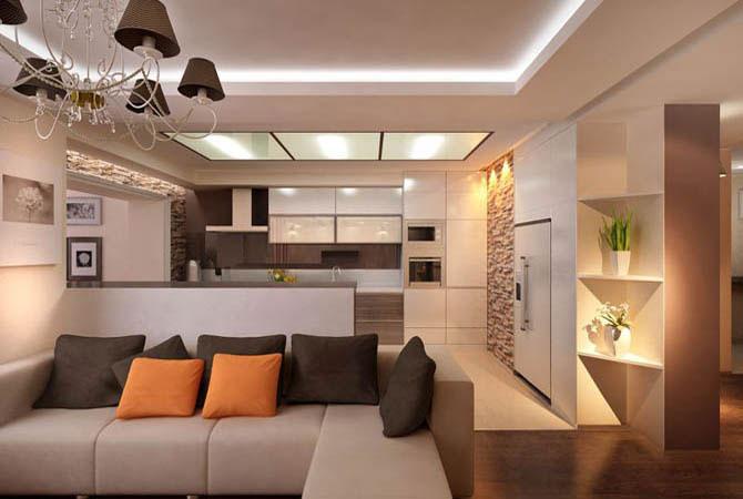 профессиональный дизайн интерьера дома