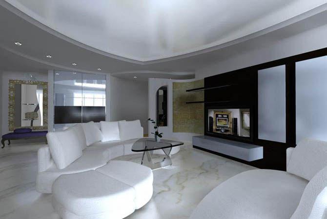 дизайн небольшого прямоугольной формы комнаты