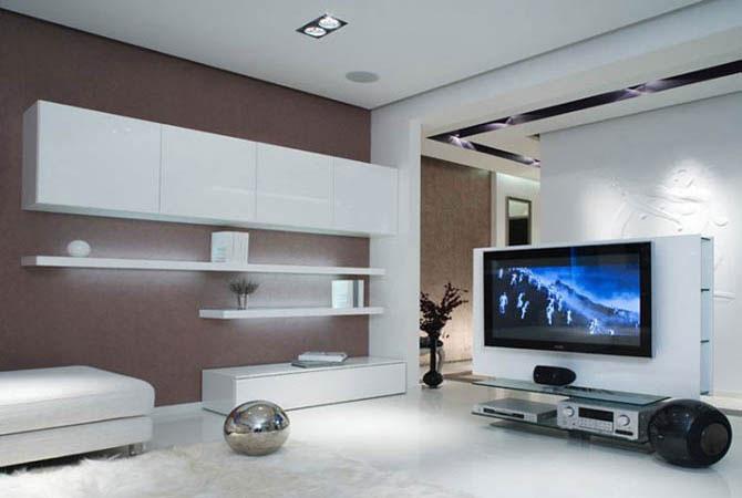 фотогаллерея дизайна интерьера потолка стен комнат