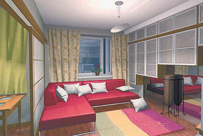 дизайн интерьера квартиры - рациональное использование места