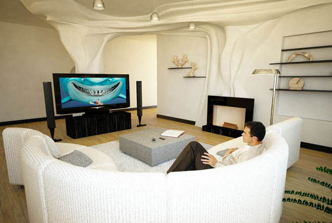 варианты дизайна 3-х комнатных квартир
