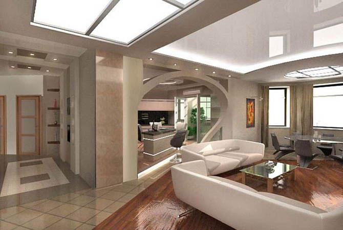 частный интерьер квартир и домов