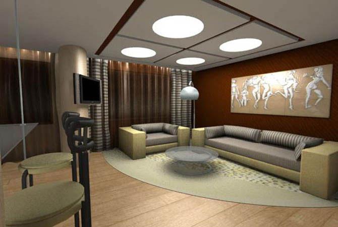 дизайн комнаты иллюстрации квартиры серии 137