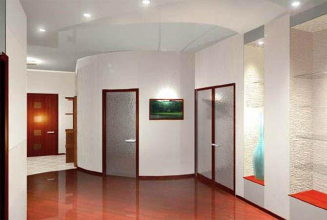 современый дизайн потолков в 3х квартирах фотоснимки