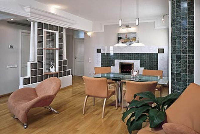 стеллажи и библиотеки в интерьере квартир