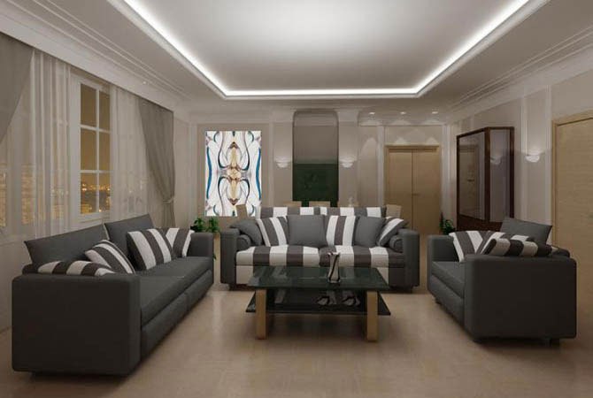 дизайн и отделка дачного дома