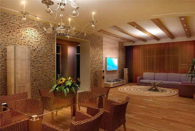 современный интерьер маленьких комнат