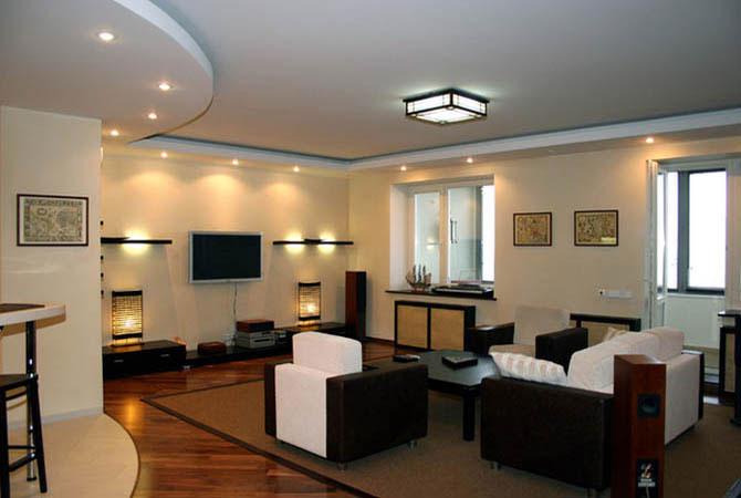 дизайн однокомнатной квартиры от 34 кв м