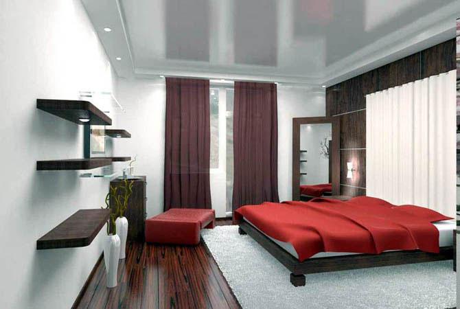 дизайн штор для спальной комнаты фото смотреть