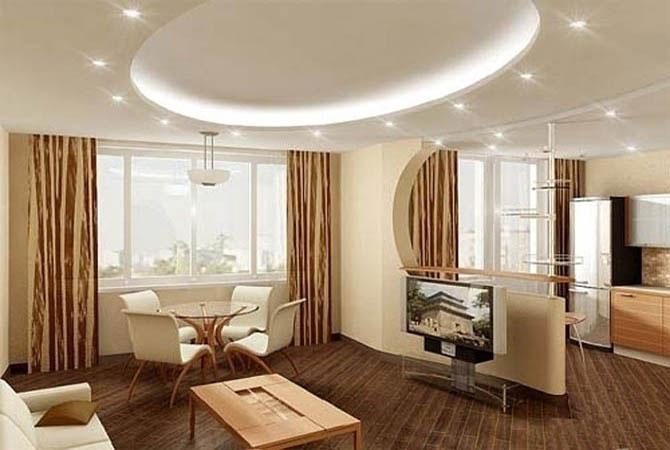 дизайн в двухкомнатной квартире