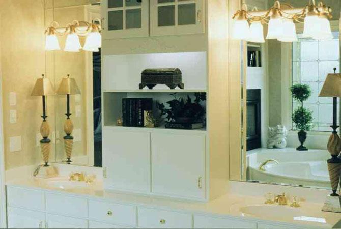 дизайн ванных комнат с разными стенами
